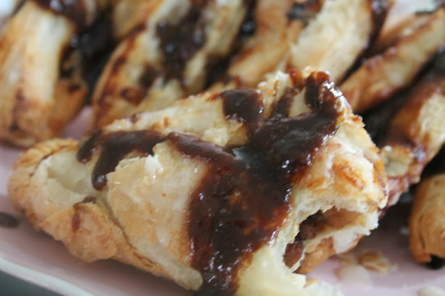 Caramel apple turnovers