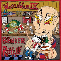 Wold War IX - 'Bender Royale' CD EP Review (Hardcore)