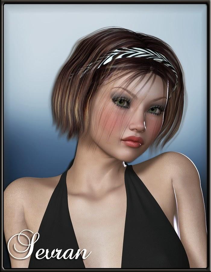 3d Models - Sevran Hair