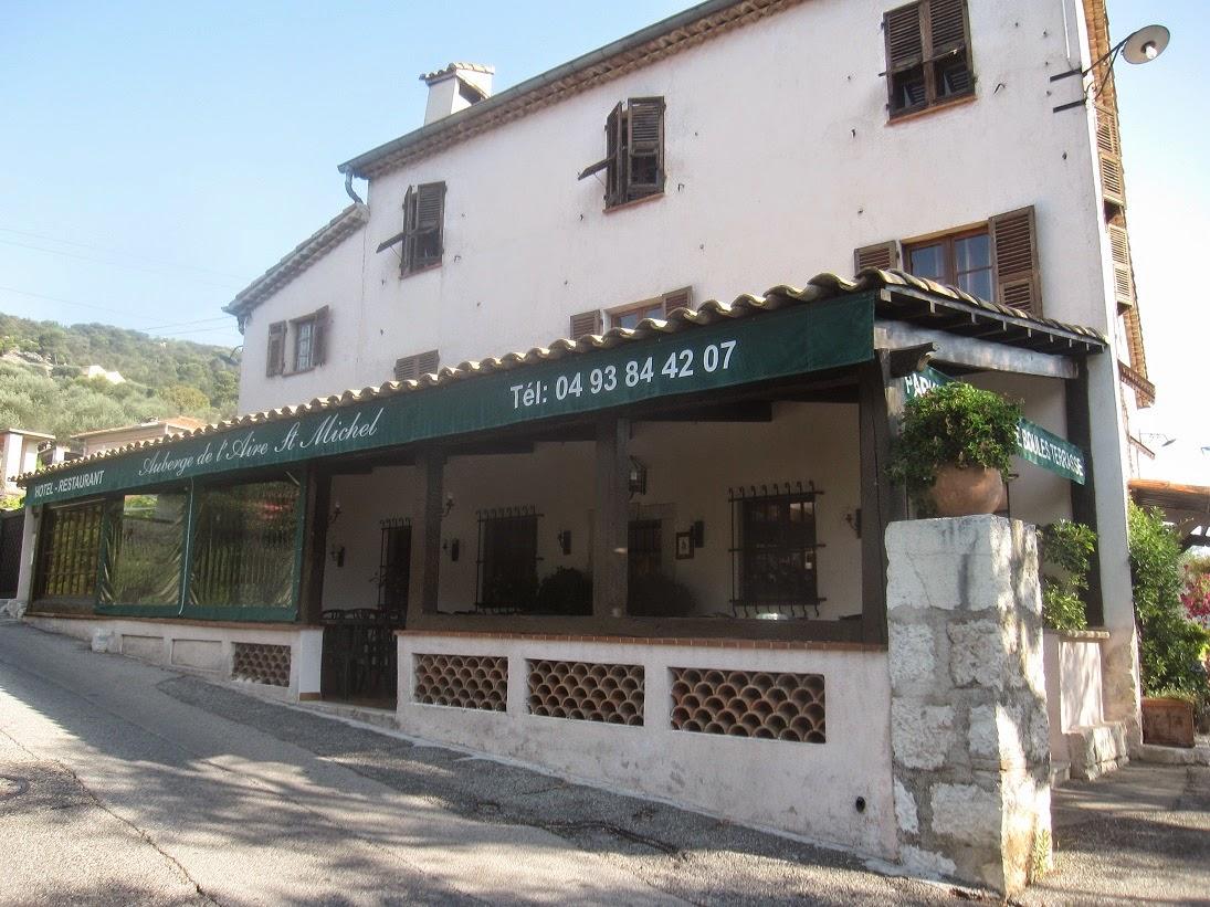 Aire St Michel Restaurant Falicon