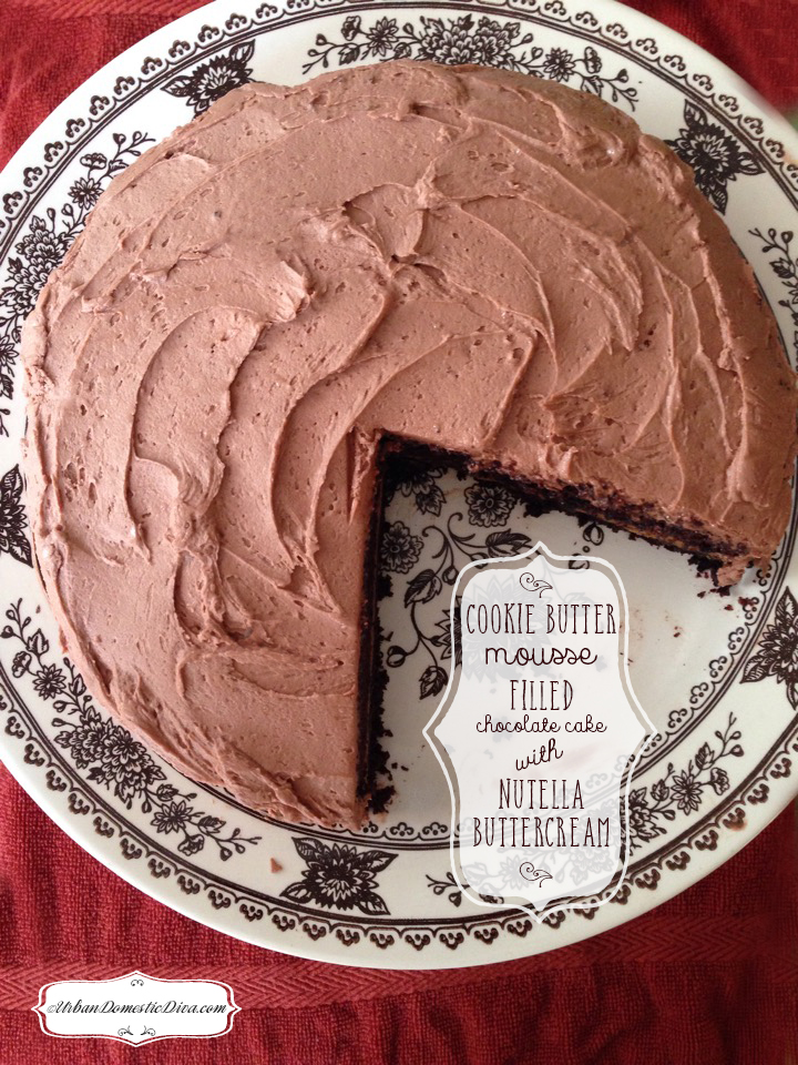 how to make nutella buttercream frosting
