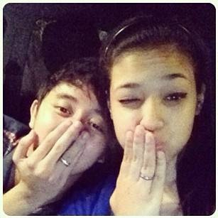 Gambar mesra ChaCha Maembong dan kekasihnya (9 Photo)
