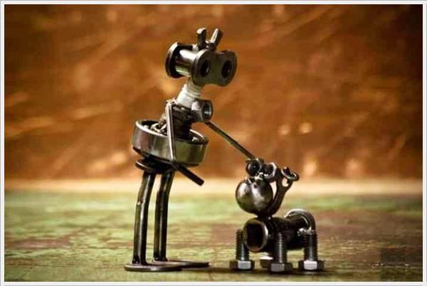Tiny Nut Bolt Sculptures Openfreak Com