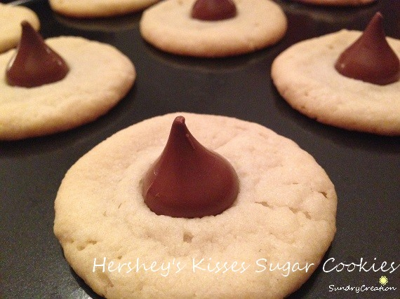 Sweet Treat Hershey S Kisses Sugar Cookies