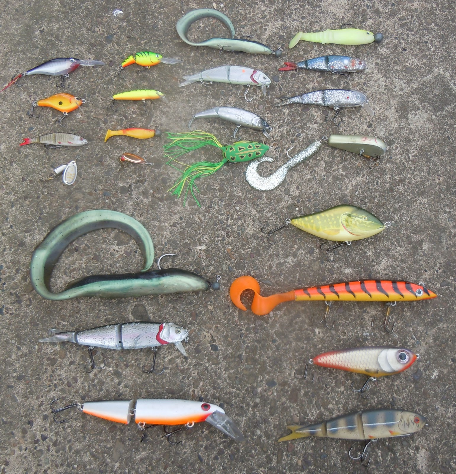 A newbie guide from riverpiker lure lounge for Best fishing bait