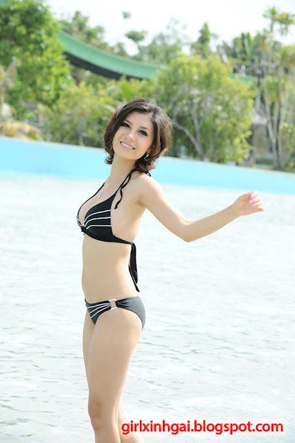 Hoa khôi áo tắm, miss bikini Vietnam, hình ảnh girl xinh bikini 1