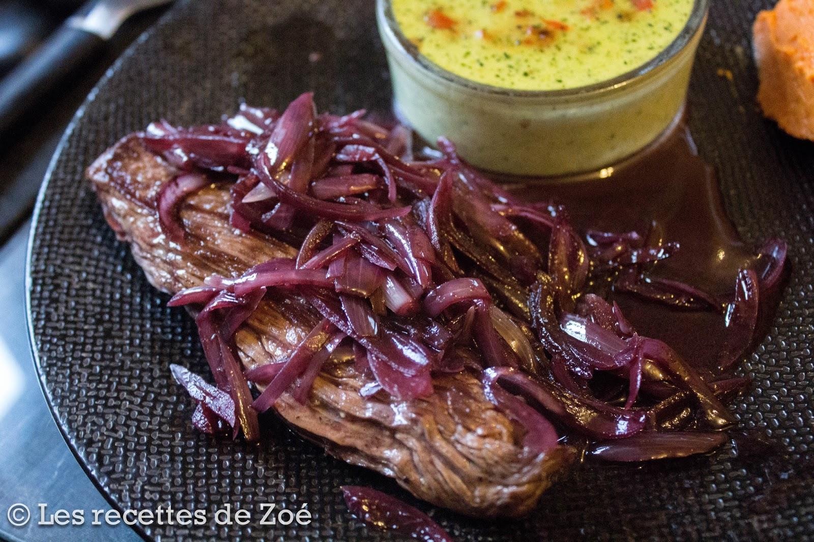 Les recettes de zo bavette l 39 chalote au vin rouge - Culture de l echalote ...