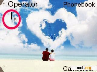 Tema Nokia E63 love by pal