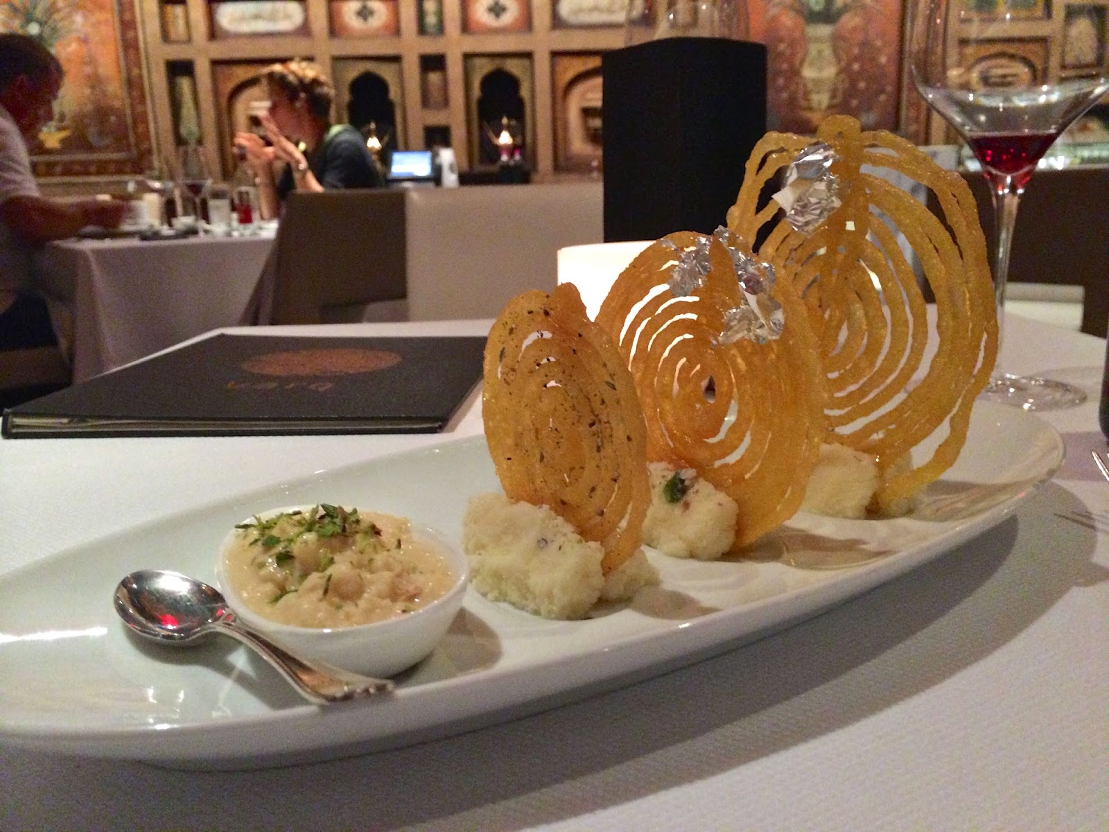 Trio of Jalebi at Varq Delhi