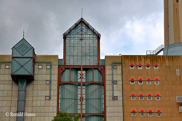 Industrie - Architektur - Heizkraftwerk Römerbrücke in Saarbrücken