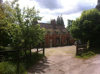 The front of Old Burghclere station