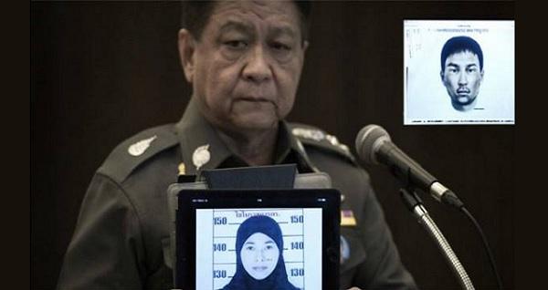 Letupan Bom di Bangkok: Wanita Berhijab Suspek Baru Diburu Polis