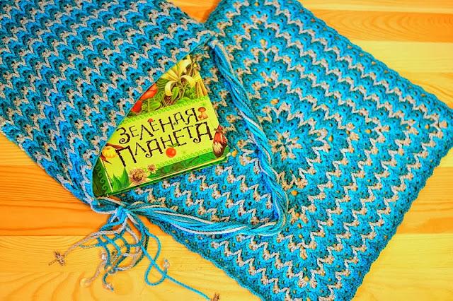 Стиль барджелло вязание ковриков