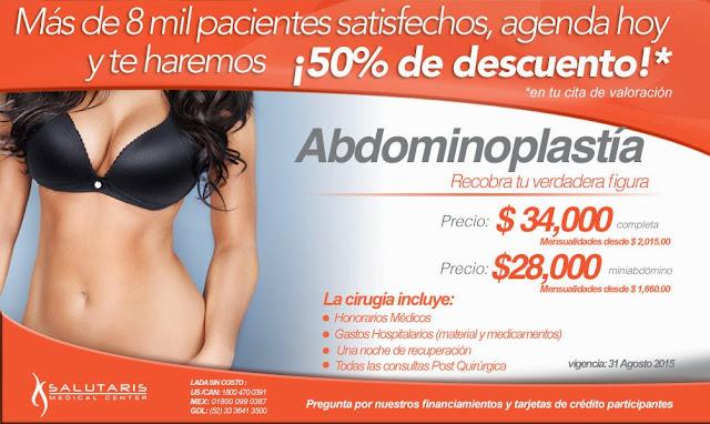 Salutaris Medical Center Abdominoplastia En Guadalajara