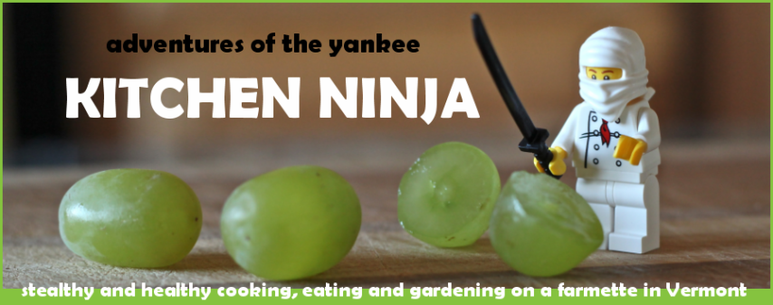 Adventures of the Yankee Kitchen Ninja (a Vermont food blog)