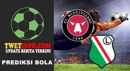 Prediksi Midtjylland vs Legia Warsawa, Europa League 18-09-2015