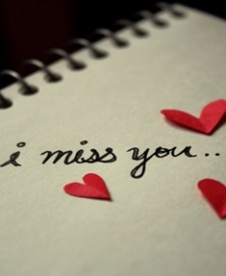 I Miss You With Flower Wallpapers