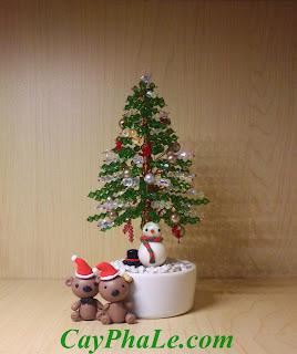 Cây pha lê Noel - Mã 7.J