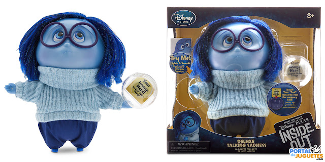 muñeca tristeza del reves inside out disney store