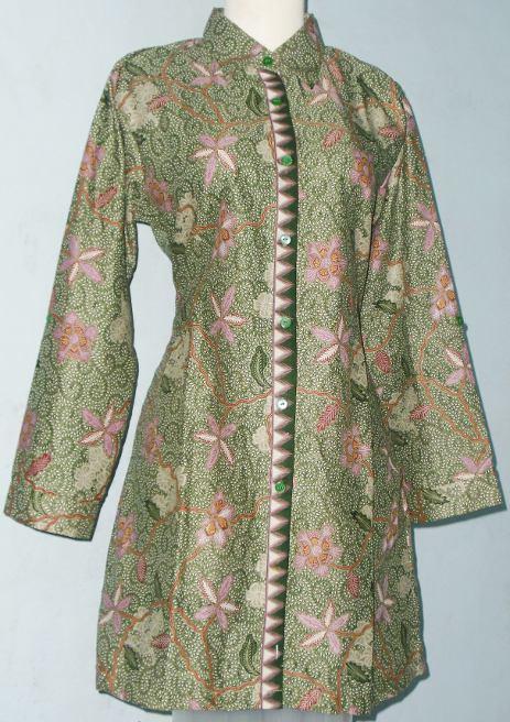 Dapatkan berbagai macam model baju batik wanita dengan desain terbaru ...