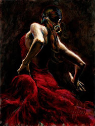 Dancer in red ...