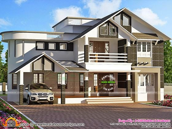 3d house plan rendering