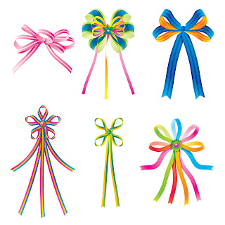 Free 6 ClipArts Bows