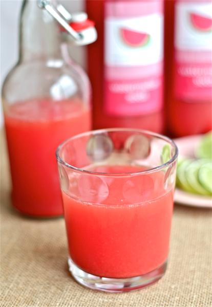 easy homemade watermelon soda
