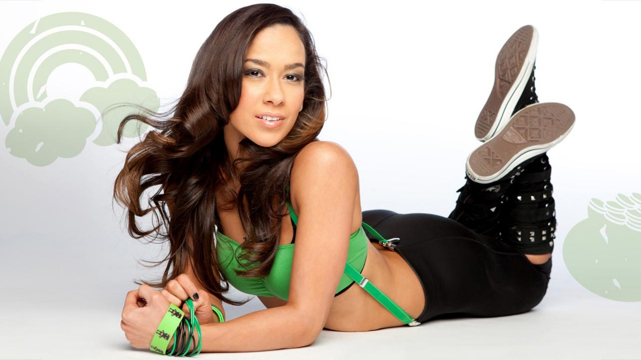 WWE AJ Lee hd New Wallpapers 2012
