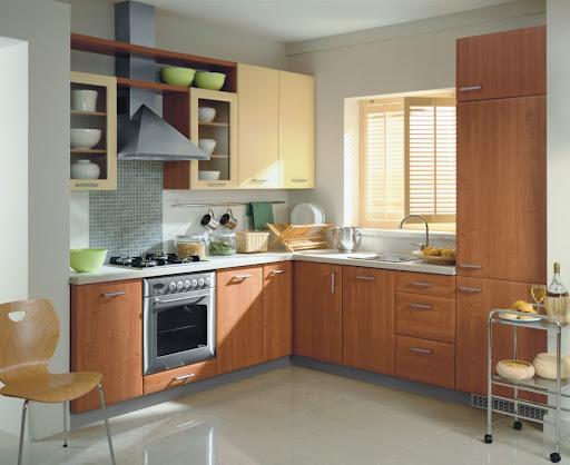 Small Kitchen Set Design Exotic House Interior Designs