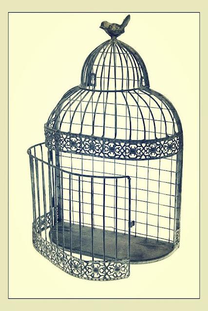 Dekoratif, Kuş, Kafesi, Ferforje