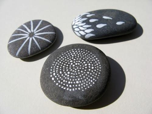 decora tu vida diy decorar con piedras naturalmente On piedras de rio pintadas