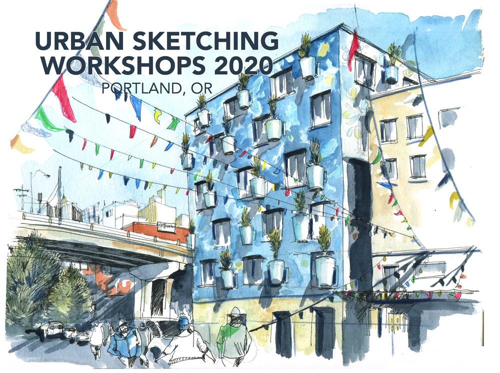 2020 Urban Sketching Workshops