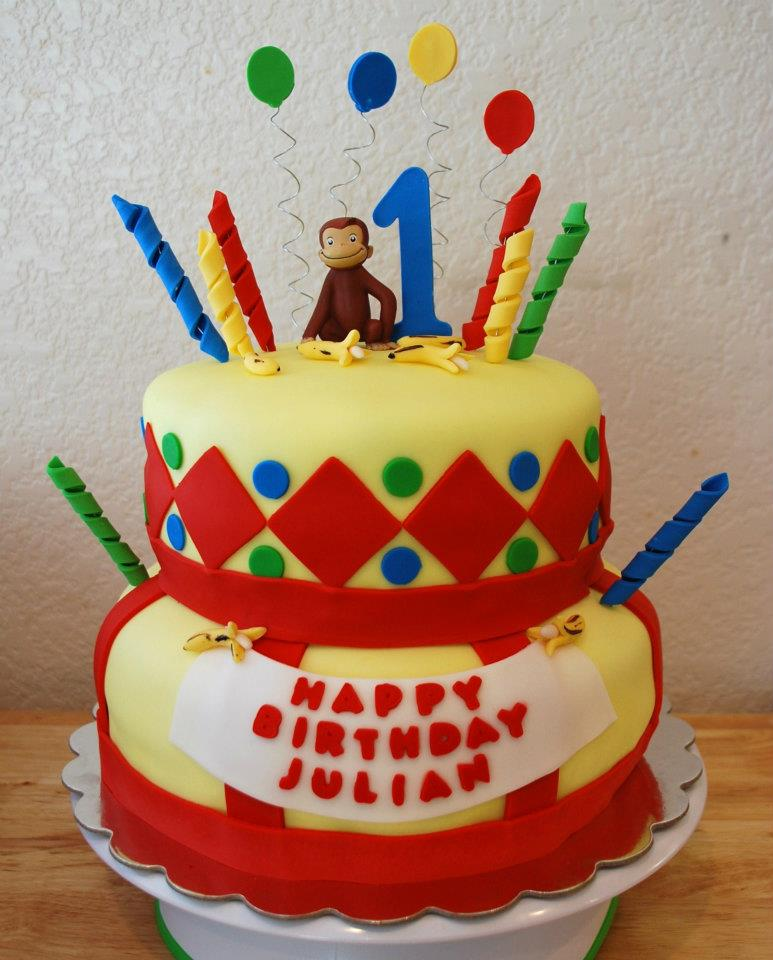 Curious George Cake Topper amp Birthday Candles  Walmartcom