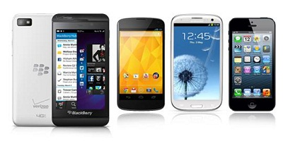 adu blackberry z10 vs android dan iphone paling canggih, smartphone tercnaggih 2013 terbaru, pilih blackberry 10 android atau iphone?