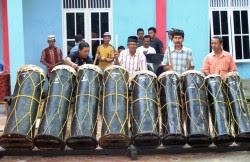 bintancenter.blogspot.com - Gordang Sambilan Sudah Ada di Sumatera Utara Sejak 500 Tahun Lalu