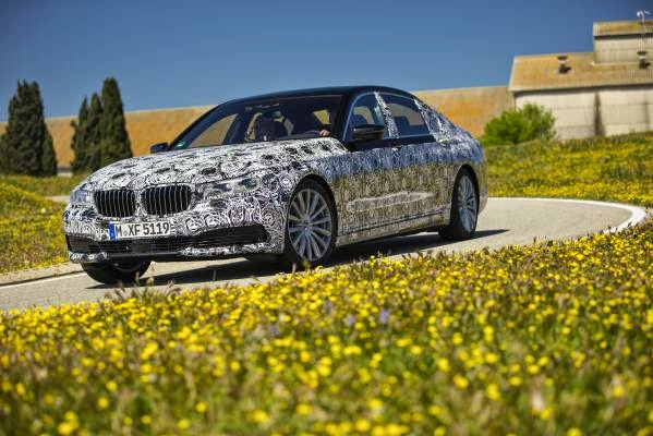 BMW Σειρά 7. PreDrive Miramas