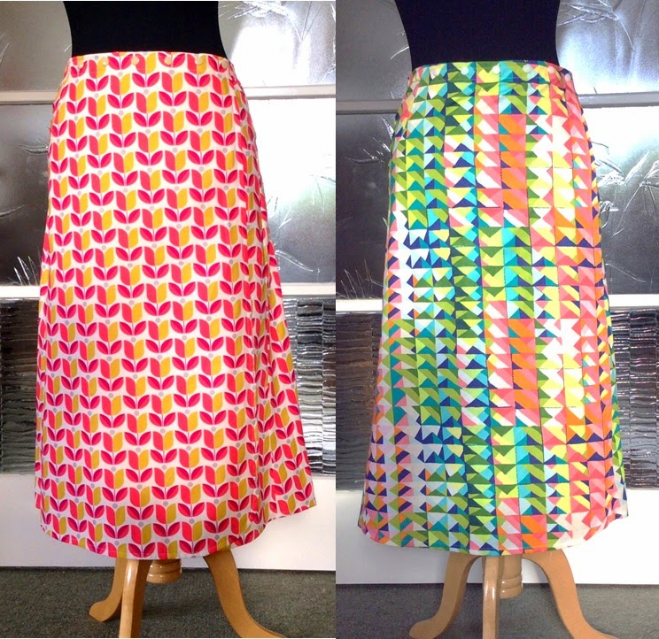 Tea length skirts by Minnie + Ree