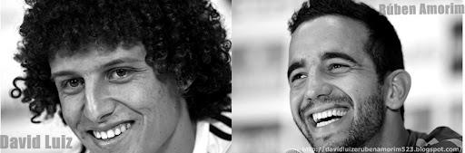 David Luiz e Rúben amorim 523  fãs ♥