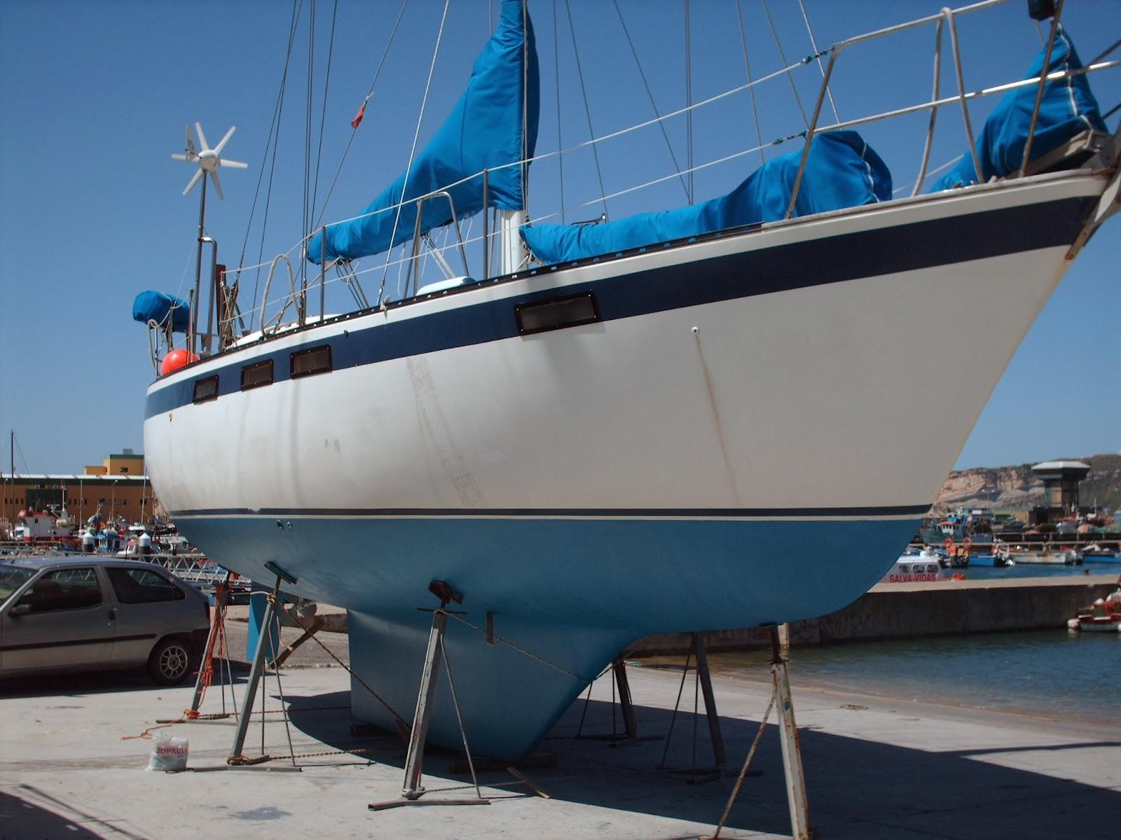Nazare boat yard