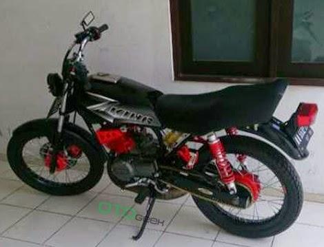 motor yamaha rx king cobra