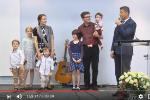 VIDEO: Familia Bodnariu la Biserica Emanuel Sibiu