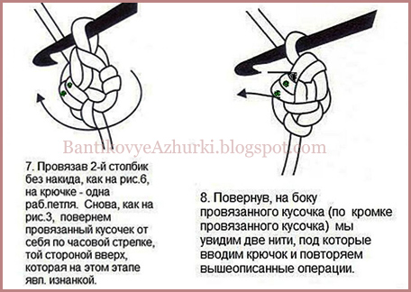 "Как вязать крючком шнур """