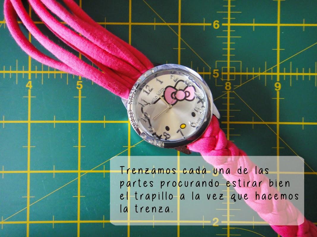 DIY- Correa de reloj - Paso 3