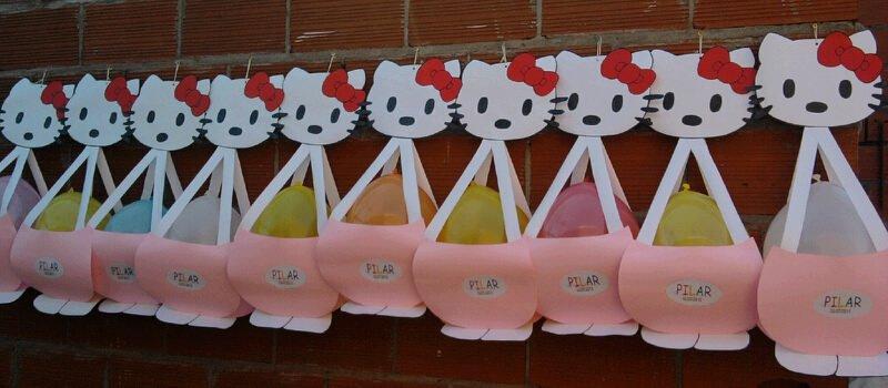 Souvenirs con goma eva de la Kitty - Imagui