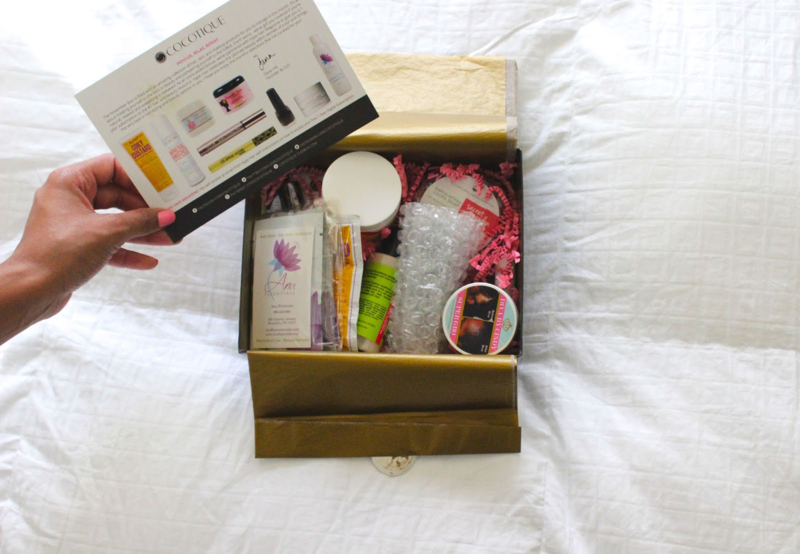 Cocotique November Box