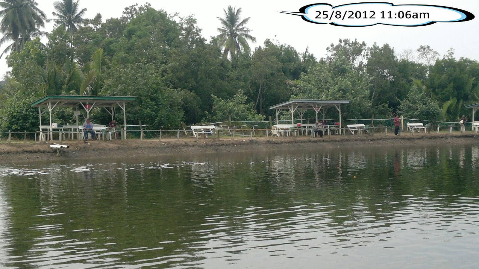 Kolam Memancing Dan Rekreasi Balok Kolam Air Masin