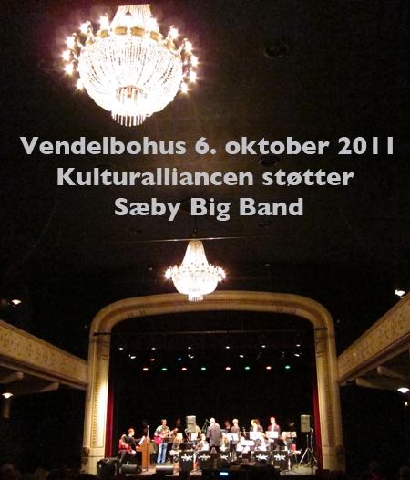 Vendelbohus havde besøg af Sæby Big Band