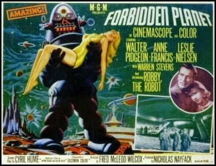Póster de Planeta prohibido (Fred M. Wilcox, 1956)