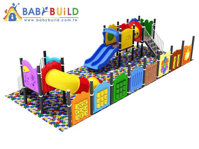 BabyBuild 室內球池滑梯